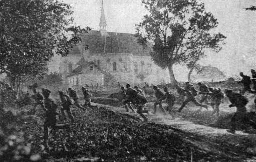 Дудин В.А, 322 полк Солигалич Первая мировая война