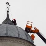 иерей Николай Андреянов, Солигалич, церковь, приход, ремонт Спасо-Преображенского храма